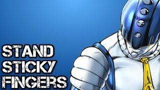 Sticky Fingers Stand Explained [ JoJo Golden Wind ]