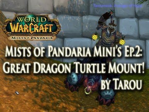MoP Mini's Ep.2: Dude, Where's My Dragon Turtle Mount?!