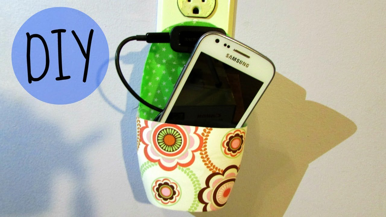 Diy Cell Phone Holder Youtube