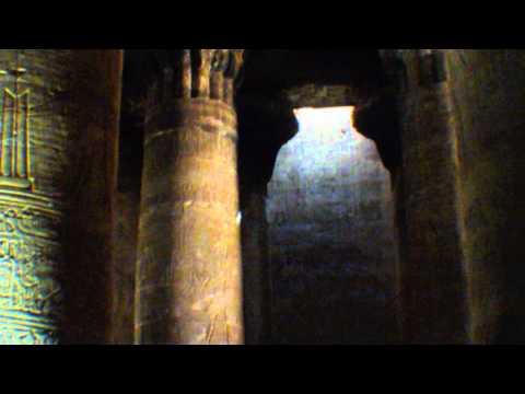 Der Tempel von Edfu - gesehen von Thilo