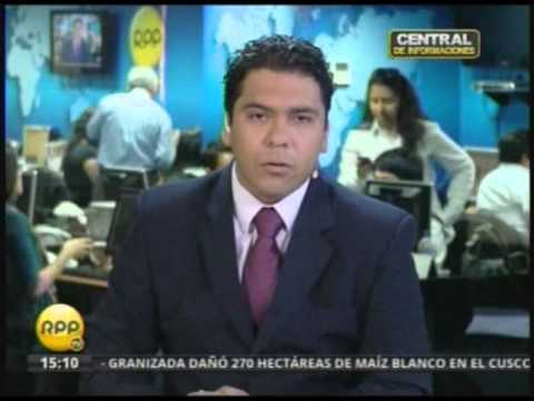 Temblor en vivo RPP Tv (25/11/13)