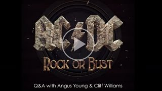 AC/DC - Exclusive Amazon Q&A. Angus Young and Cliff Williams answer questions on - Rock or Bust