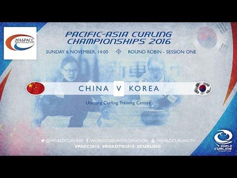 China v Korea (Women) - Pacific-Asia Curling Championships 2016