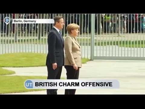 Cameron Holds Talks on Negotiating EU membership: British PM meets Merkel, Kopacz