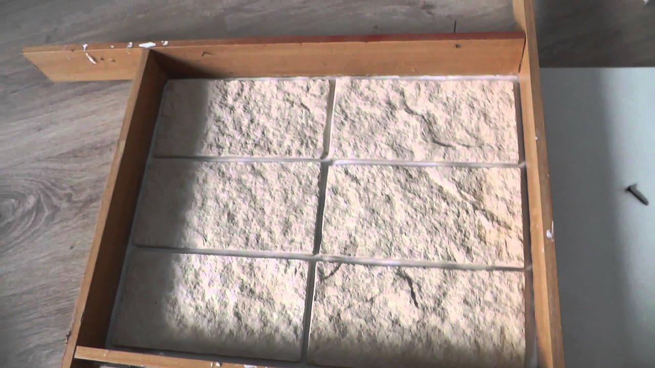 Как изготовить формы для искусственного камня своими руками 58