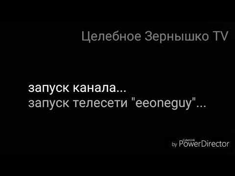 Начало вещания Целебное Зернышко TV (20.21.13 - 20.25.18)