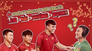 Chơi Game Đoán Ý Hài Hước Cùng Quang Hải, Văn Lâm, Xuân Trường và Duy Mạnh