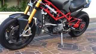 2007 ducati monster custom.