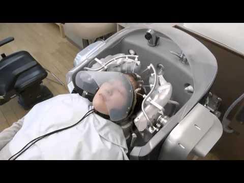 Robot pour vous laver les cheveux et vous masser la tête