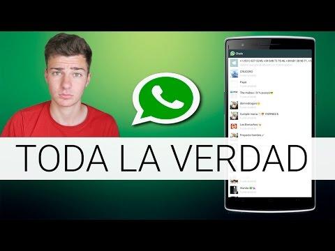 Hackear Whatsapp y Espiar Conversaciones ¿Se puede?   2015