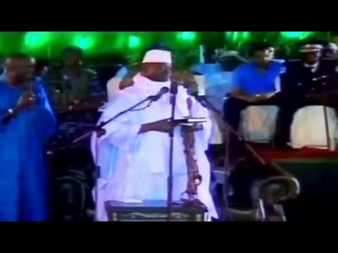 Yahya Jammeh insulting the Banjulians