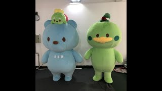Adult costumes An Inflatable Rubber Duck Costume Best selling good quality duck costume