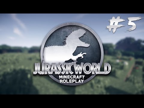 Minecraft Jurassic World - SCIENTIST'S CAFF & TYCER! - Ep 5 (Minecraft Roleplay)