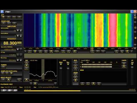 FM DX sporadic E in Holland: unid