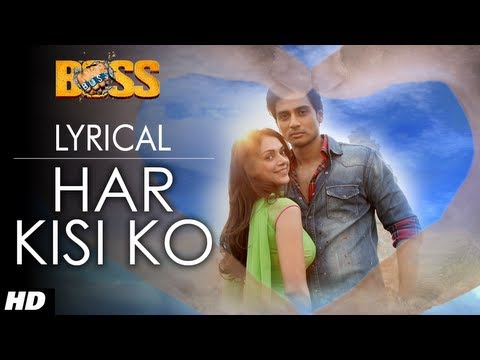 Har Kisi Ko Nahi Milta Full Song with Lyrics | Boss | Shiv Pandit...