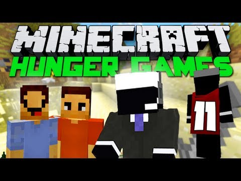 Minecraft Hunger Games - Episode #11 w/MrWoofless & McLaffyTaffy! - Chasing and Racing!
