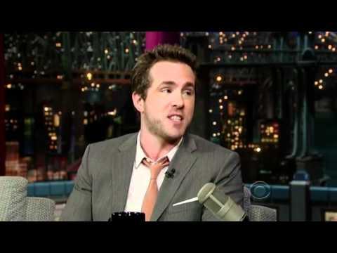 Ryan Reynolds @ David Letterman (2012)