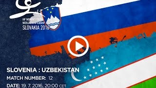 Словения до 18 : Узбекистан до 18
