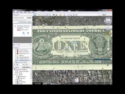 U.S. Dollar OVERLAYS Washington DC Perfectly: 300 Year-Old Secrets REVEALED!