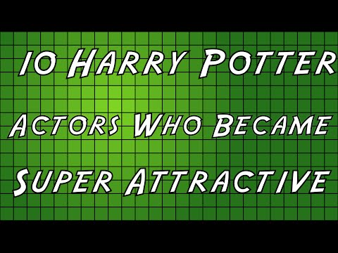 10 Harry Potter Actors Who Became Super Attractive