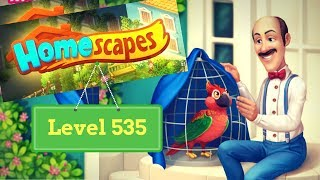 Homescapes Level 535 - How to complete Level 535 on Homescapes
