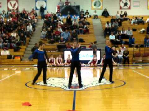 Boone Grove High School Dance Team 1-19-2011