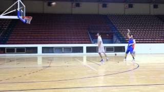 Peja vs Caplja 1:1 (full court edition)