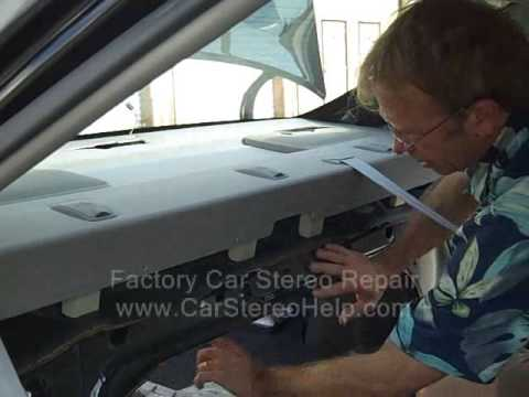 Toyota Camry Rear Speaker And Grill Cover Removal 2002