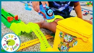 THE BEST THOMAS TRACKMASTER PLAYSET EVER! TURBO JUNGLE! Pretend Play with Awesome Toy Trains!