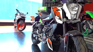 #Bikes@Dinos: KTM Duke 200 All Colours Walkaround Review, Test Ride