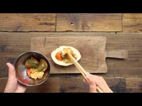 フォークとナイフで食べる「肉じゃが」