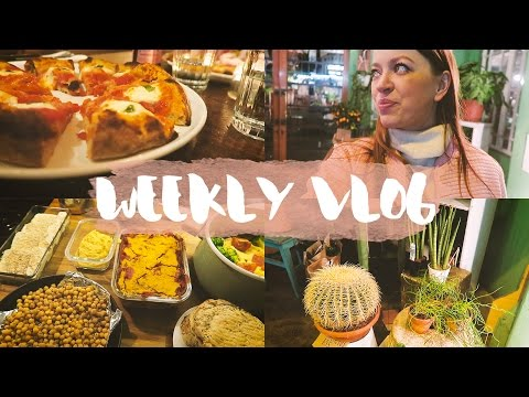 Radio Alice (vegan!) Pizza, Pub-Time & Mealprep #WEEKLYVLOG 8