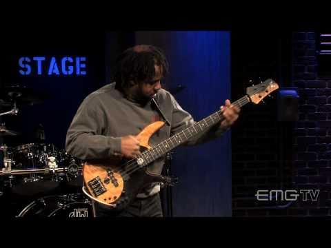 "Victor Wooten ""the lesson"" live: EMGtv"