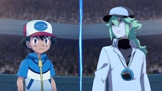 Pokemon Battle USUM: Unova Ash Vs N (Pokémon Unova League Face Off!)