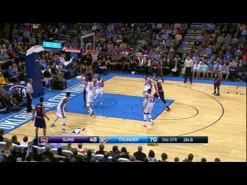 Phoenix Suns vs. Oklahoma City Thunder Full Highlights 12.14.2014