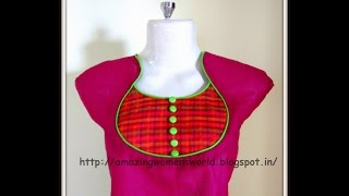 POT NECKLINE - EASY MAKING