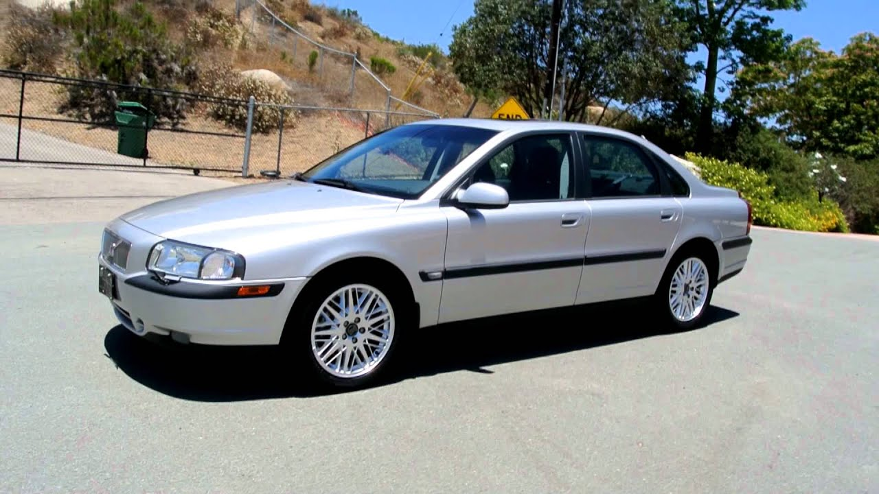 2001 Volvo S80 T6 Executive 1 OWNER Twin Charged V6 16K ...