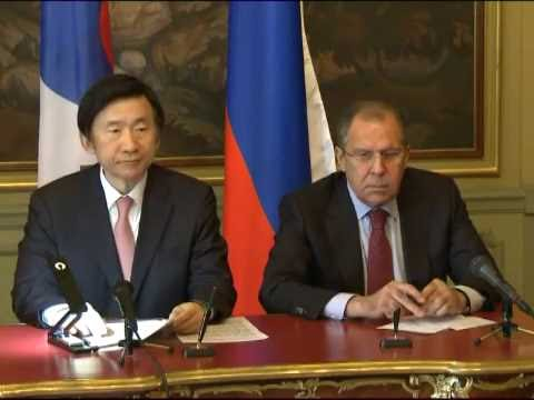 PC by Sergey Lavrov and Yun Byung-se