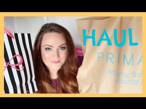 PRIMARK HAUL  & Glamour Shopping Week