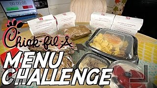 CHICK-FIL-A | BREAKFAST MENU CHALLENGE