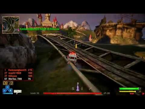 Twisted Metal PS3 - Deathmatch - Meat Wagon in Thrills & Spills Theme Park - 18th March (HD)
