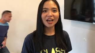 SHARLENE SAN PEDRO on NASH  MIKA HAPPY ako for THE