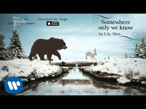 Lily Allen - Somewhere only we know (Official Audio - John Lewis Christmas Advert)