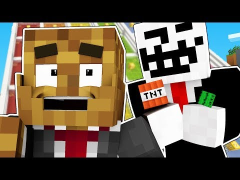 PRANKING EACH OTHER WITH WORLD EDIT - MINECRAFT LUCKY BLOCK RACE