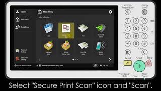 How to scan using Uniflow for iR-ADV Gen3 series