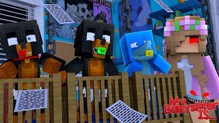 Minecraft My Babysitter Is.... EVIL LITTLE KELLY!!