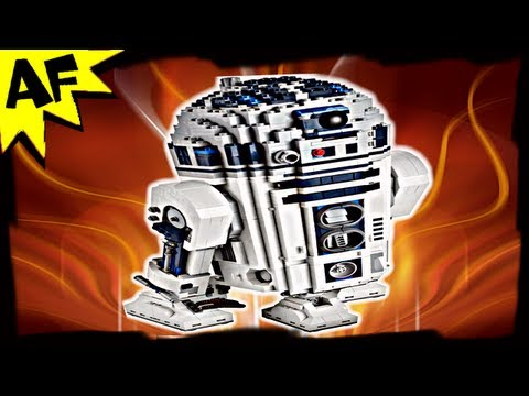 R2-D2 Ultimate Collector Series - Lego Star Wars Set 10225 Animated Building Review