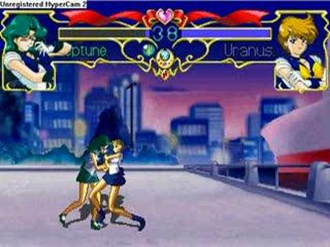 Sailor Neptune vs Sailor uranus