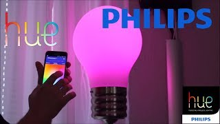 PHILIPS HUE Color 3 Generation UNBOXING Installation und Test (deutsch/german)