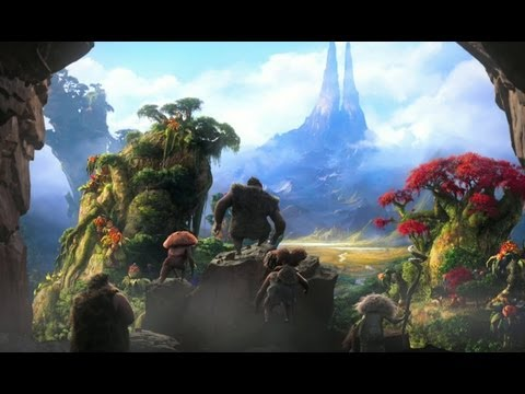 The Croods – Official Trailer (HD)